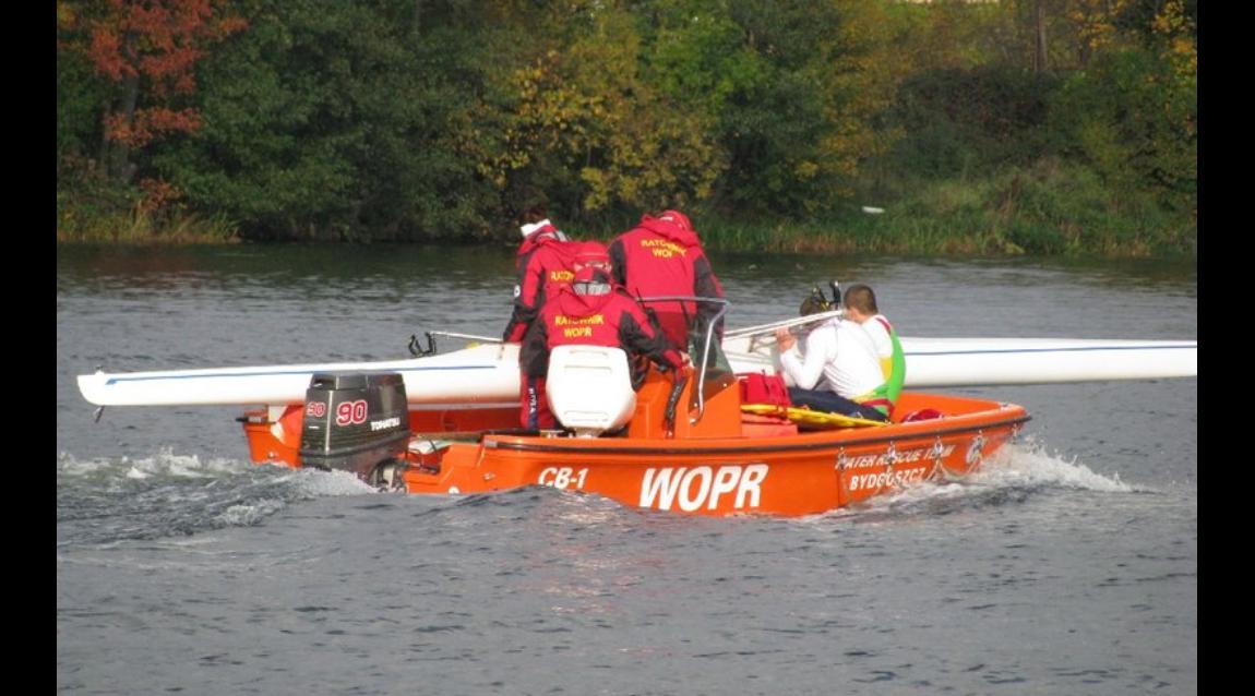 Szkolenie ratowników WOPR