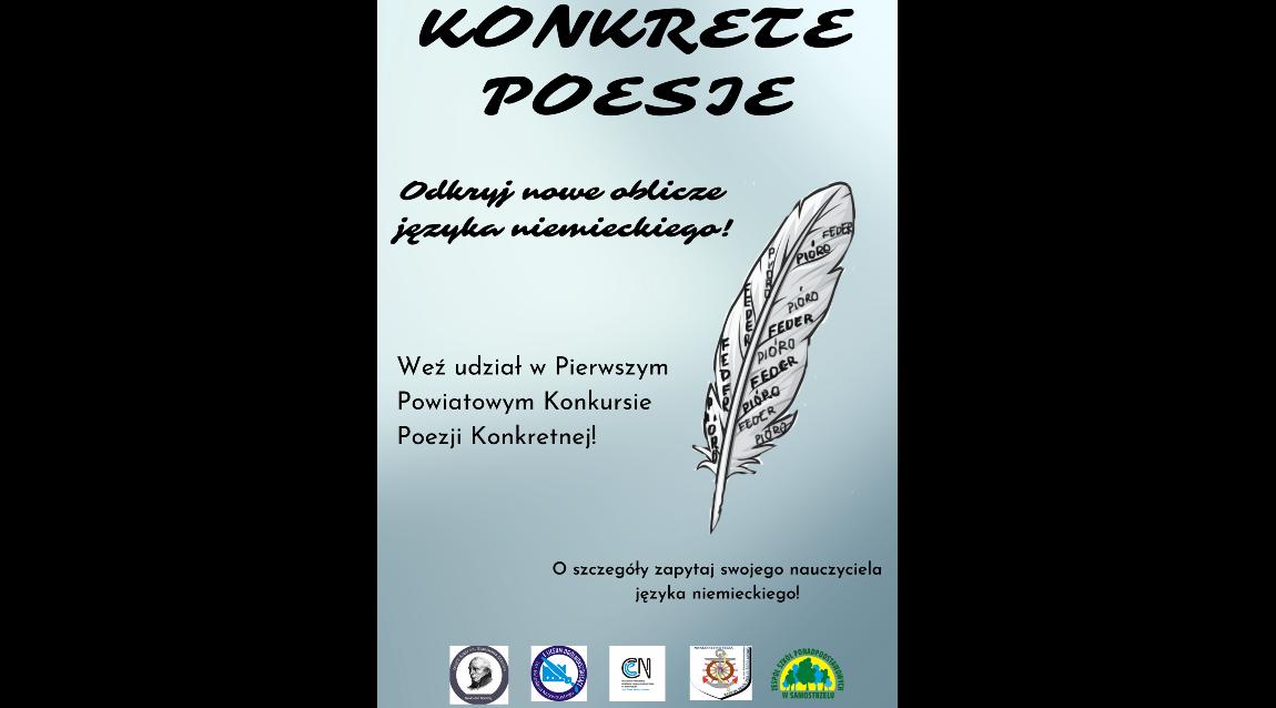 Powiatowy Konkurs Poezji Konkretnej