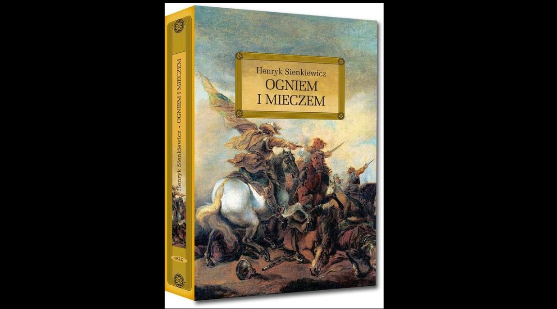 """Fragment """"Ogniem i mieczem"""" Henryka Sienkiewicza czyta Hubert"""